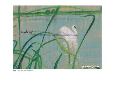 4 Postkaarten | Zomer